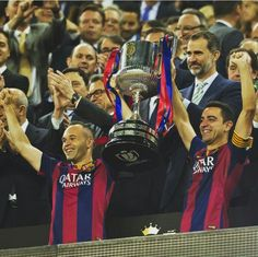 #FCBarcelona #Xavi #Iniesta