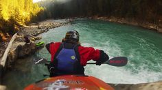 some awesome white water rafting via Kavu