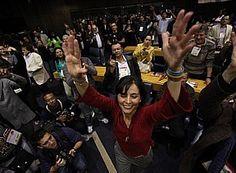 Convenção do PPS de homologação da candidatura de Soninha Francine. - Daniel Teixeira/AE http://www.estadao.com.br/noticias/politica,soninha-diz-que-haddad-tem-que-comer-muito-arroz-com-feijao-para-chegar-la,890555,0.htm#