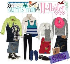 """""""Outfits From: Hollister♥"""" by the-polyvore-tips on Polyvore"""