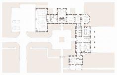 Connecticut Vernacular - First Floor Plan | John B. Murray Architect