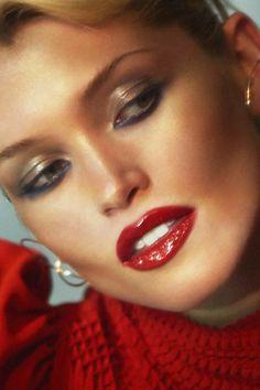 Eye Quotes, Diy Nail Polish, Best Bow, Art For Art Sake, Red Lips, Beauty Nails, Beauty Women, Make Up, Lipstick
