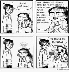 Cómics acerca d las pruebas que a diario enfrenta cada chica - Taringa!