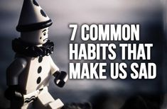 Habits are what most of our lives are made of. There are healthy habits which are helping us make progress and become stronger every day but there are als