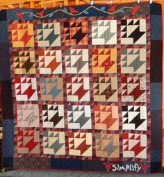 Quilty Folk: Third Finish of the Year!