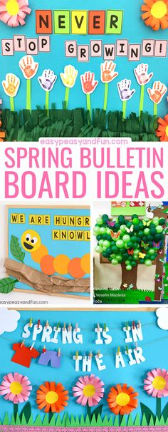 Wonderful Spring Bulletin Board Ideas for Your Classroom! SO many great ideas for adding some color, flowers or bugs to your bulletin board this spring. Easter Bulletin Boards, Preschool Bulletin Boards, Classroom Bulletin Boards, Classroom Door, Bulletin Boards For Spring, March Bulletin Board Ideas, Bulletin Board Ideas For Teachers, Bullentin Boards, Ladybug Bulletin Boards