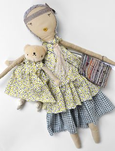 PDC + Jess Brown Collaboration ................................................... Doll and Bear are sold separately Pear Liberty Jess Brown Doll- ...