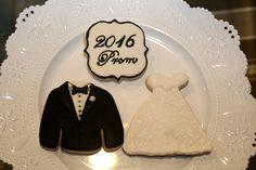 Prom Sugar Cookies