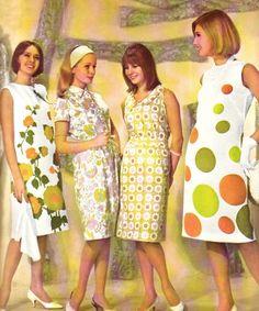 1960s, retro fashions