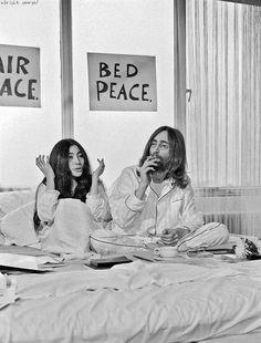 A2 John Lennon And Yoko Ono Bed Protest Print A3 A4