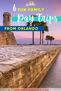 Day trips are a great way to have a mini vacation on a budget. This Florida family friendly destinations are packed with fun things to do to keep you busy all day. Get out of the hustle and bustle of the city and explore these 6 fun family day trips from Orlando! #daytrip #florida #vacation #travel #floridavacation #orlando Road Trip Florida, Us Road Trip, Visit Florida, Florida Vacation, Florida Travel, Mini Vacation, Vacation Travel, Vacation Trips, Day Trips