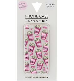 SKINNY DIP - Popcorn iPhone 6 case | Selfridges.com
