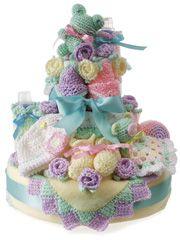 Crochet Happy Cake