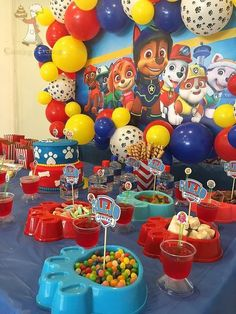 Paw Patrol Birthday Decoration Ideas Best Of Resultado De Imagen Para Fiesta Tem. - Paw Patrol Birthday Decoration Ideas Best Of Resultado De Imagen Para Fiesta Tematica Paw Patrol - Paw Patrol Birthday Decorations, Paw Patrol Birthday Theme, Paw Patrol Party Favors, Bolo Do Paw Patrol, Paw Patrol Cake, Paw Patrol Pinata, Paw Patrol Cupcakes, 4th Birthday Parties, 3rd Birthday