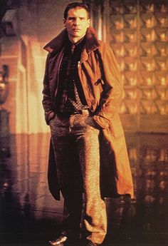 "Harrison Ford en ""Blade Runner"", 1982"
