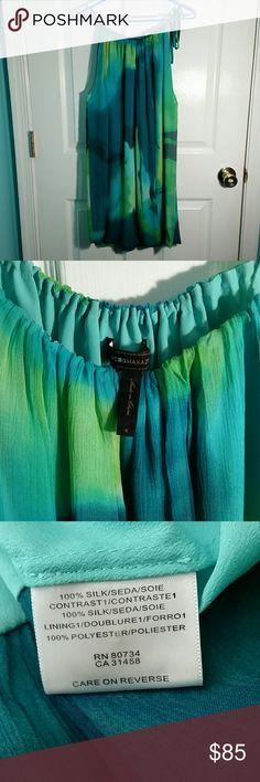 I just added this listing on Poshmark: 100 % Silk BCBG Blue/Green Cocktail Dress. #shopmycloset #poshmark #fashion #shopping #style #forsale #BCBG #Dresses & Skirts