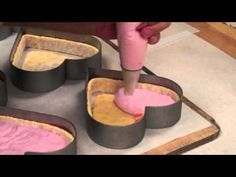 Elegant Desserts Raspberry & White Chocolate Mousse Cake Creation (for bakery?)