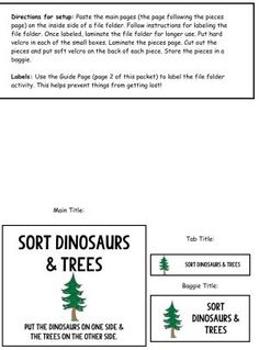 Sorting non-identical items is a perfect next step for children who have mastered basic matching and are ready to work on more complex skills!  by theautismhelper.com