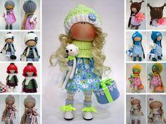 Tilda doll Puppen Baby doll Bambole Handmade doll Art doll