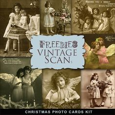 Freebies Vintage Christmas Photo