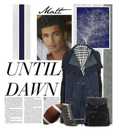 """""""Until Dawn Characters: Matt"""" by supercalifragilistica ❤ liked on Polyvore featuring Rachel Zoe, Universal Lighting and Decor, DRKSHDW, Patrizia Pepe, Michael Angel, Topshop, BaubleBar, Game, cutie and ps4"""