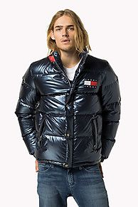 Shop the green metallic down puffer jacket from the latest Tommy Hilfiger jackets collection for men. Free returns & delivery over 50£. 8719253709746
