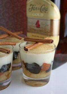 Pío Quinto - Nicaraguan Rum Cake Parfait