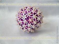 Christmas decorations - pins, sequins, wrapping paper and styrofoam balls