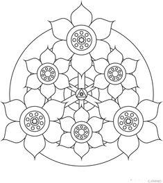 Flower Mandala Design