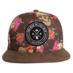 Boné Snapback Hoshwear Blacky Flow Marrom - DEP Store - Roupas Lifestyle 4182764850b