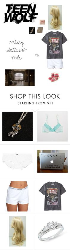 """""""Kelsey Stilinski-Hale: """"Memory Found"""""""" by nerdbucket ❤ liked on Polyvore featuring Mother Daughter Jewelry, Aerie, Victoria's Secret PINK, Calvin Klein, Old Navy, Ice and Accessorize"""