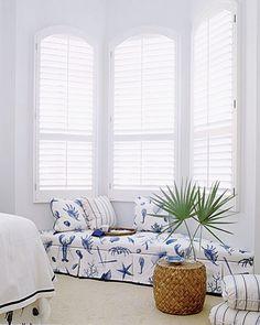 Coastal window seat