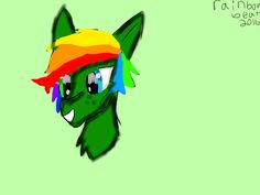 (New freckles on oc)(don't steal or repin)art by: rainbow beat