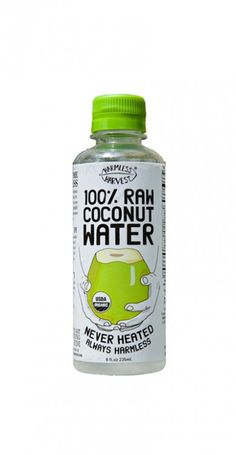 Raw Coconut Water Hydrates and Beautifies