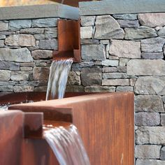 Corten Water Feature