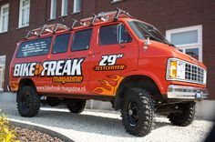 Here's a fine example of a Dodge Van 4x4 Conversion.
