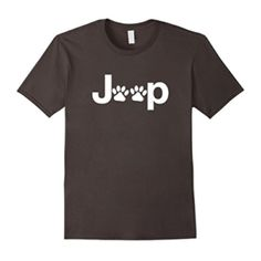 Jeep Dog Paws T Shirt