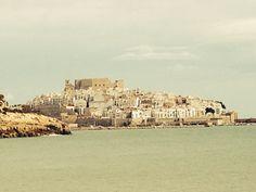 Peñiscola, vista desde el puerto.