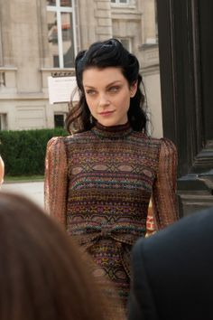 Jessica Stam, looking Belle Epoque