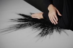 Imagen de black, art, and white
