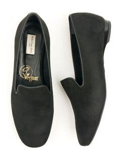 Will S Vegan Shop Loafer Schwarz Veganes Wildleder Damen In 2020 Vegane Schuhe Schuhe Fur Breite Fusse Und Wildleder