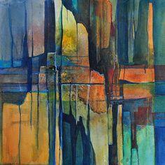 """Daniel Gerhard, """"Splitter"""" Mit einem Klick auf 'Als Kunstkarte versenden' versenden Sie kostenlos dieses Werk Ihren Freunden und Bekannten."""