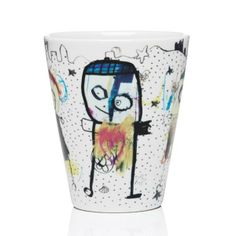 Poul Pava Thermomug beach NEW COLLECTION AIDA Pint Glass, Scandinavian, Porcelain, Mugs, Beach, Artist, Collection, Products, Porcelain Ceramics