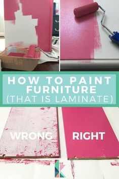 upcycled furniture There is a vital trick for successfully painting Ikea or laminate furniture and it doesnt involve sanding! I figured out the key to making it perfect and you wont believe how easy it is.