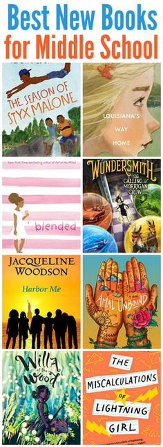 Trying to keep your kids hooked on reading (or keep up)? These best new middle school books of the year are going to hook your readers! Middle School Book List, Middle School Libraries, Middle School Literacy, Middle School Reading, Reading Lessons, Reading Books, Children's Books, Grade Books, Growth Mindset Book