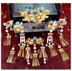 Asian Hair Accessories, Wedding Accessories, Asian Hair Pin, Chinese Hairpin, Head Pins, Hair Sticks, Hair Ornaments, Hanfu, Hair Jewelry