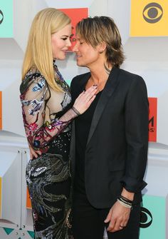 Nicole Kidman and Keith Urban on the ACMs red carpet.                                                                                                                                                      More