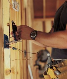 An #electrical #contractor's is to #install and #repair electrical wires and components.We Offer Data & AV Security #Camera Installation.#wire #switches #automation