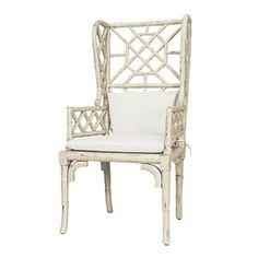 White Hot Decor | Chippendale Wing Chair | CoastalLiving.com