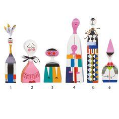 Wooden Dolls - Gruppe 1-6